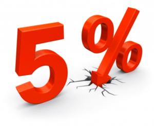 5-procent